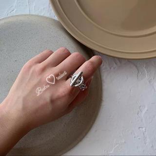 フィリップオーディベール(Philippe Audibert)のシルバークロスリング(リング(指輪))