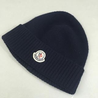MONCLER - 【良品】モンクレールMONCLER ニット帽 帽子 羊毛 ウール100%