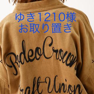 RODEO CROWNS WIDE BOWL - ロデオ☆コーデュロイ オーバーシャツ