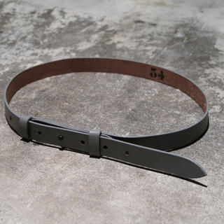 SUNSEA - SUNSEA Gray Belt 19AW