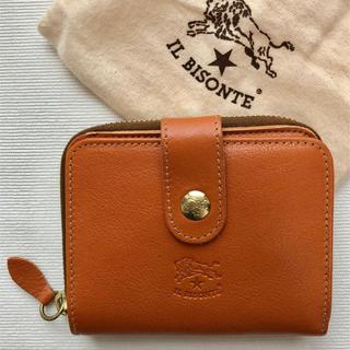 IL BISONTE - 【新品未使用】イルビゾンテ 二つ折 財布 ヤキヌメ