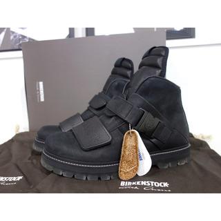 リックオウエンス(Rick Owens)の新品 定価92880円 19SS リックオウエンス ビルケンシュトック ブーツ(ブーツ)