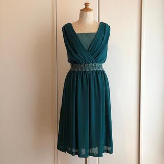 アーモワールカプリス(armoire caprice)の美品 フォーマルワンピース Mサイズ(ミディアムドレス)