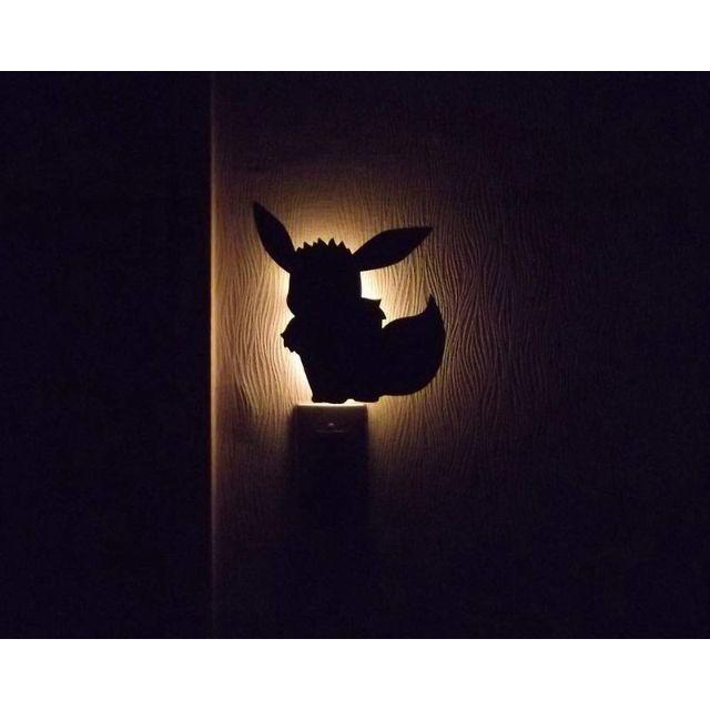 ポケモン(ポケモン)のポケモン イーブイ おすわり ウォールライト フットライト LED 照度センサー インテリア/住まい/日用品のライト/照明/LED(その他)の商品写真