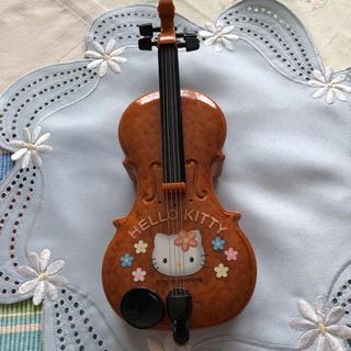 ハローキティ(ハローキティ)の♡キティ♡バイオリン★音楽♪(楽器のおもちゃ)