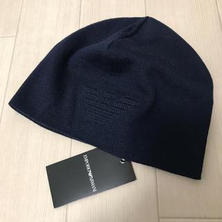 エンポリオアルマーニ(Emporio Armani)の エンポリオ アルマーニ ニットキャップ 627667 3A552 新品未使用品(ニット帽/ビーニー)