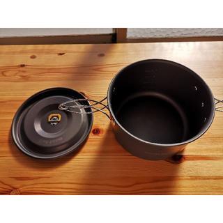 モンベル(mont bell)のモンベル アルパインクッカー18+20パンセット 中古(調理器具)