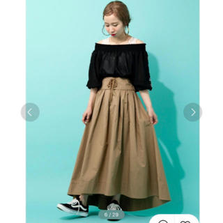 ダブルクローゼット(w closet)の美品♥︎wcloset♥︎ベルト付きスカート♥︎(ロングスカート)