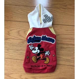 Disney - パーカー 赤