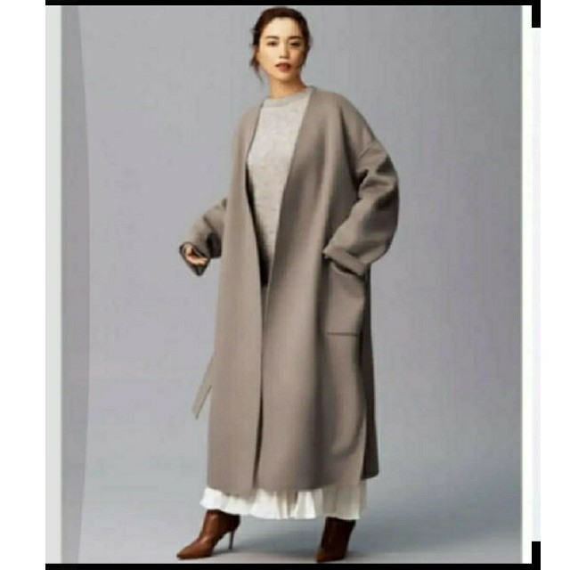 Noble(ノーブル)の未使用✭ノーク最新リバーコート レディースのジャケット/アウター(ガウンコート)の商品写真