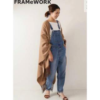 【新品】 FRAMeWORK フレームワーク デニム サロペット 36サイズ