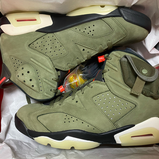 NIKE - NIKE AIR JORDAN 6 TRAVIS SCOTT 29cm