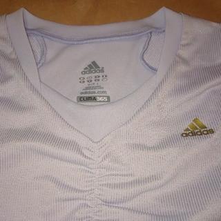 adidas - 未使用 アディダス CLIMA365 レディース Tシャツ L 薄紫