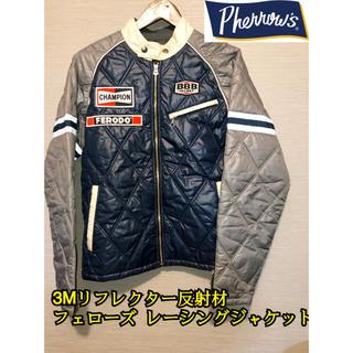PHERROW'S - フェローズ ライダース ジャケット リフレクター レーシング Pherrow's