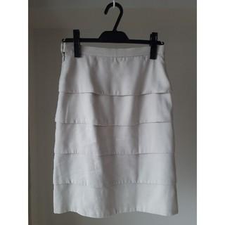 エムプルミエ(M-premier)のM-PREMIER スカート ライトベージュ エムプルミエ(ひざ丈スカート)