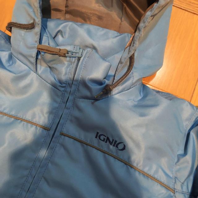 スキーウェア ブルー 100cm スポーツ/アウトドアのスキー(ウエア)の商品写真