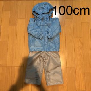 スキーウェア ブルー 100cm