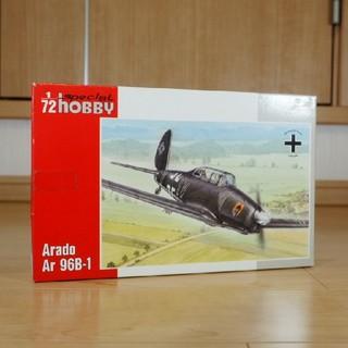 スペシャルホビー 1/72 独・アラドAr96B-1複座練習機  定価2860円(模型/プラモデル)