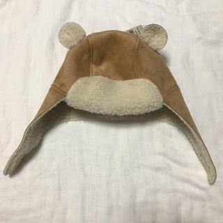 ベビーギャップ(babyGAP)のbaby gap クマ耳 ボアトラッパーハット 70(帽子)