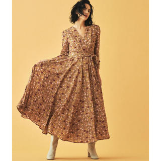 TOMORROWLAND - トゥモローランド別注 マリハ マドモアゼルのドレス カシュクールマキシワンピース