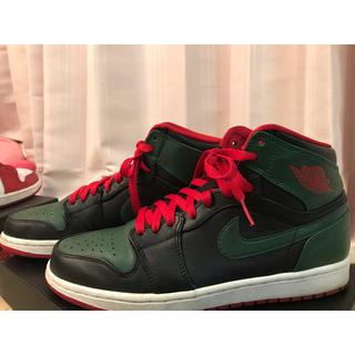 NIKE - NIKE AIR JORDAN1 GREEN GUCCI