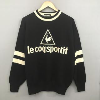 le coq sportif - 【美品 良品】 ルコック スポルティフ ゴルフウェア 長袖 ウールニットセーター