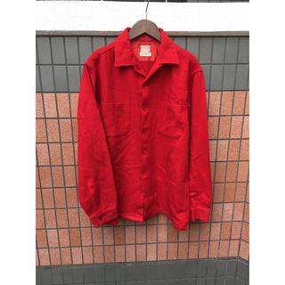 McGREGOR - McGREGOR 開襟 ボックス ウールシャツ