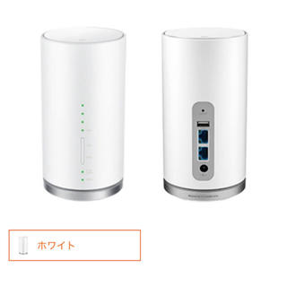 エーユー(au)のSpeed Wi-Fi HOME L01s(PC周辺機器)