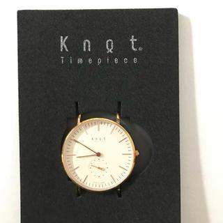 ノットノット(Knot/not)の【3/18まで】knot ノット 腕時計 箱付き(腕時計)