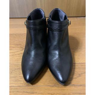 バークレー(BARCLAY)の【値下げ】バークレー ショートブーツ ブラック(ブーツ)