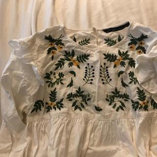 ZARA - zara  fril blouse