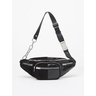 Alexander Wang - 新品 定価105840円 アレキサンダーワン スエード パテントレザー バッグ