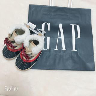 ベビーギャップ(babyGAP)のGAP  ルームシューズ 11cm(ブーツ)