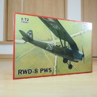 IBG1/ 72 ポーランド複座練習機RWD-8 PWS軍用タイプ定価1760円(模型/プラモデル)