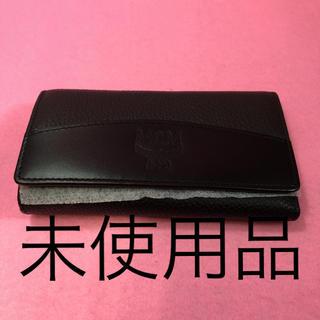エムシーエム(MCM)のMCM 5連 レザーキーケース ブラック(キーケース)