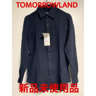 トゥモローランド(TOMORROWLAND)の【新品未使用】 TOMORROWLAND PILGRIM ウールシャツ(シャツ)