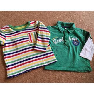 長袖Tシャツ 2枚セット サイズ80