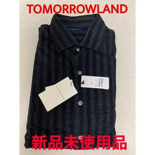 トゥモローランド(TOMORROWLAND)の【新品未使用品】TOMORROWLAND ストライプシャツ(シャツ)