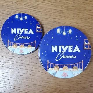 ニベア(ニベア)の〈新品〉ニベア青缶  令和限定デザイン缶 大小 2点 セット(その他)