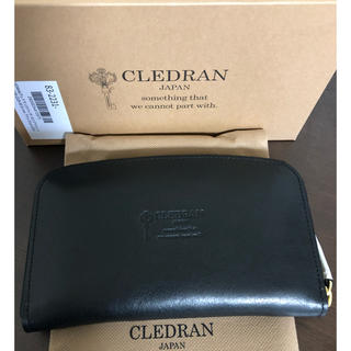 クレドラン(CLEDRAN)の再々値下《新品》クレドラン 長財布 ロングウォレット 黒(財布)