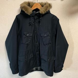 シュプリーム(Supreme)のSUPREME マウンテンパーカー モッズコート 黒 ブラック ジャケット(モッズコート)