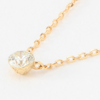 agete - agate 18k ダイヤモンドネックレス