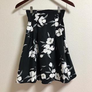 MIIA - MIIA♡花柄フレアスカート