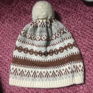 ハイランドクラブ(Hiland Club)のHighland 2000 イギリス製ウールニット帽(ニット帽/ビーニー)