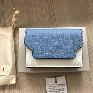新品未使用  マルニ MARNI 三つ折財布