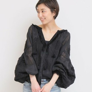 DEUXIEME CLASSE - Deuxieme Classe MARCH11  EMBROIDERYブラウス