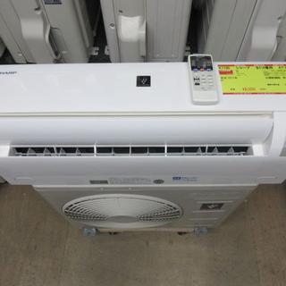 シャープ(SHARP)のK1100 シャープ 中古エアコン 主に6畳用 冷2.2kw/暖2.2kw(エアコン)