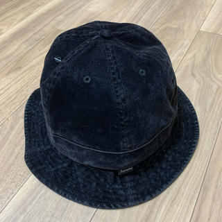 Supreme - supreme washed velvet bell hat シュプリーム