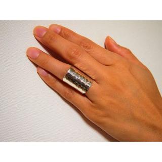 シルバー(silver925)リング【超幅広】(リング(指輪))