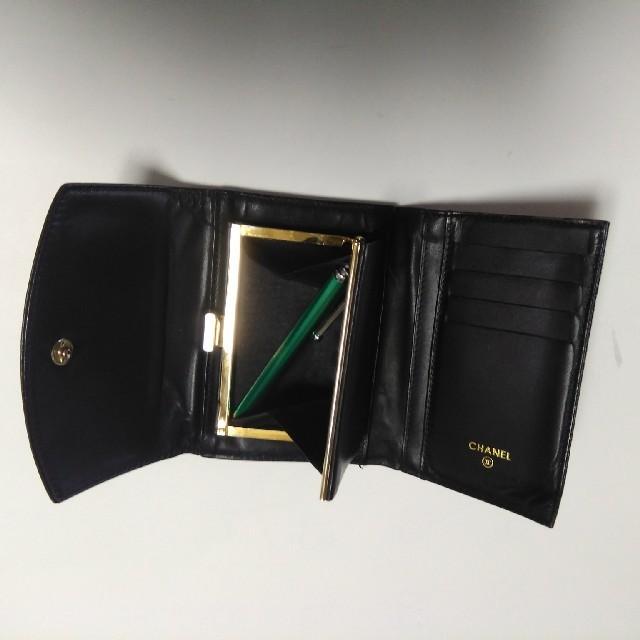 CHANEL(シャネル)のシャネル三つ折り財布 レディースのファッション小物(財布)の商品写真